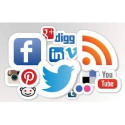 Création de page sur les réseaux sociaux
