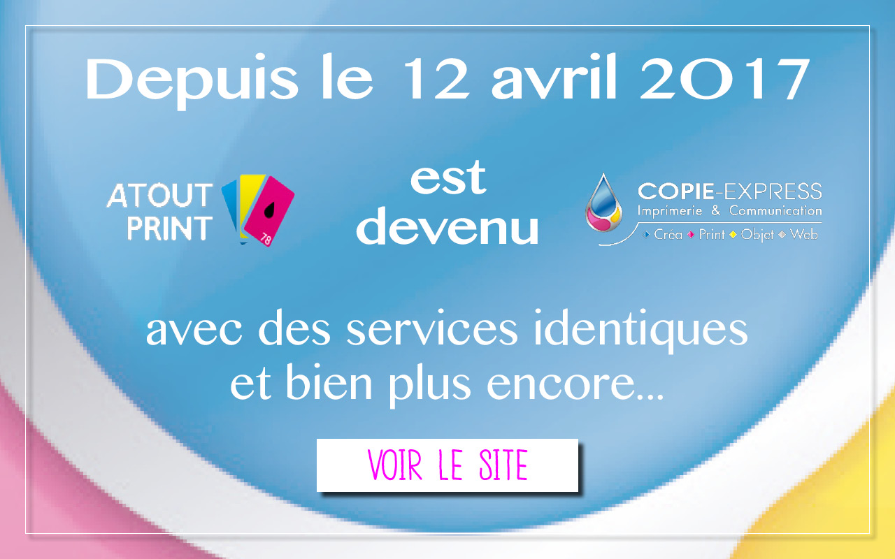 Redirection du site atoutprint