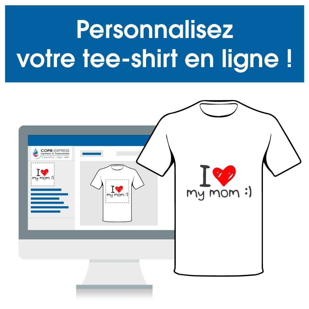 Personnalisez votre tee-shirt en ligne